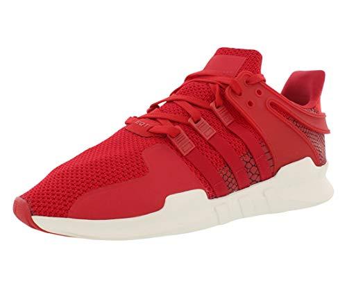 Zapatillas de deporte Adidas para mujer Equipment Support, caña baja, de color gris, color Rojo, talla 45 1/3 EU