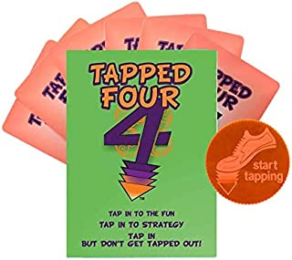 Tapped Four - Family Game - Strategy, Luck, Laughter, and Nonstop Fun! - Up to 8 Players