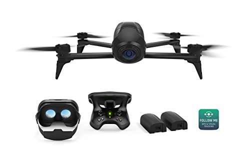 Parrot Bebop 2 Power FPV Pack - Film like a Pro with Smart Flights and up to 60 minutes of combined of flight time (Renewed)