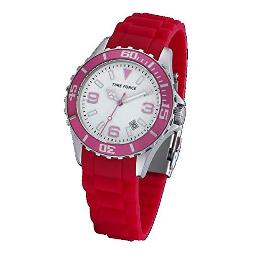 Time Force Reloj Analog-Digital para Unisex-Adult de Automatic con Correa en Cloth S0322770
