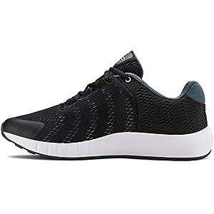 Under Armour Unisex-Youth Pre School Pursuit BP Sneaker, Black (001)/White, 7
