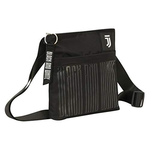 F.C. Juventus Borsa/Tracolla Mini Shoulder Bag Black And Withe Dimensioni 19.5x23x3 cm circa