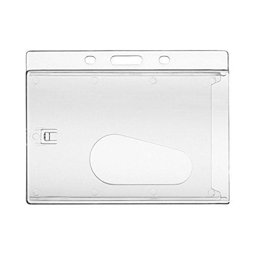 MACEMARO TRADING - Portatarjetas (1 unidad), color transparente