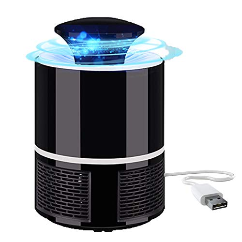 ckyuna Mosquito Traps Indoor for Flying Insects,Bug Zapper with 360 Degree Strong Suction Fans,LED Mosquito Killer
