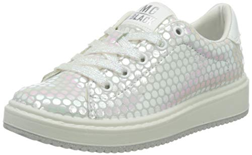 Primigi Meisjes Scarpa Bambina Lage Top Sneakers, Wit (Iridescent 5375333), 6.5 UK
