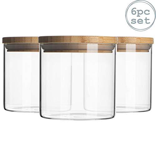 Argon Tableware 6 Piece Glass Ja...