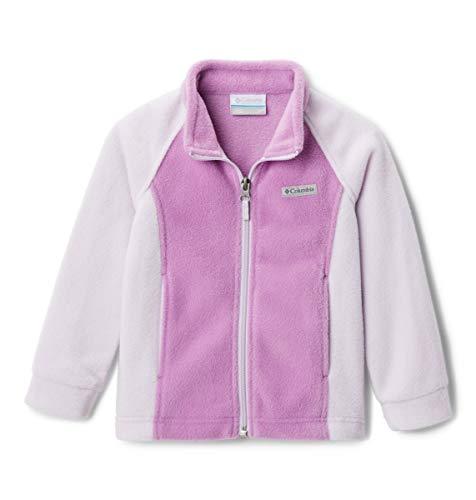 Columbia Benton Springs Fleece Forro polar, Lila/rosa flor, XL para Niñas