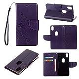 Guran Etui en PU Cuir Portefeuille Coque pour BQ X5 Plus Smartphone Magnétique Flip Housse et...