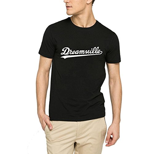 Loo Show Mens Dreamville Records T-Shirt Tee Black