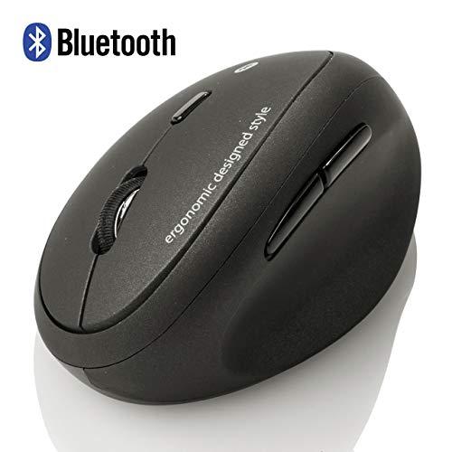 SANWA Bluetooth Mouse- Vertical Ergonomic Design