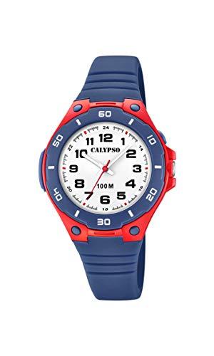 Calypso Watches Reloj Analógico para Unisex Adultos de Cuarzo con Correa en Plástico K5758/1