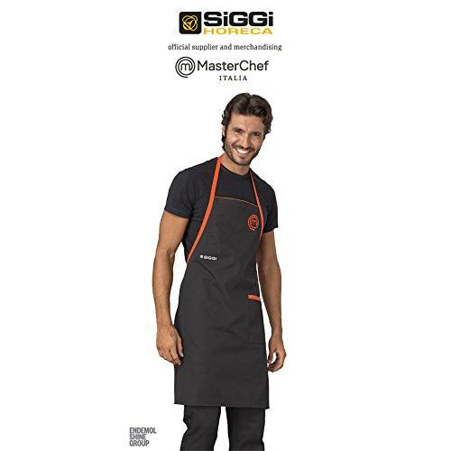Grembiule cuoco masterchef siggi nero