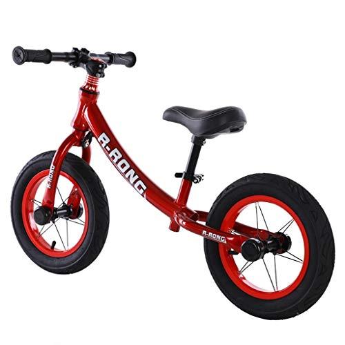 LIMUZI Hardlopen Balance Bike for Kids aluminiumlegering Geen Pedal Training Fiets met verstelbaar stuur/Seat for 2-6 jaar oud Binnen Buiten