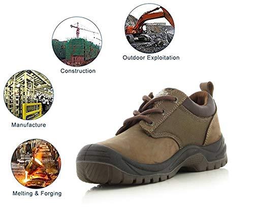 Veiligheidslaarzen, stalen neus, industriële en sportschoenen, S3/SRC