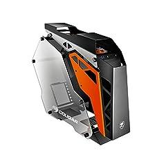 "Case Form Factor: Mid-Tower Motherboard Support: Mini ITX/MicroATX/ATX I/O Panel: USB3.0 x 2, Mic x 1 , Audio x 1 Fan Pre-installed: COUGAR CFD 120mm LED fan x 3 3 x 3.5"" Drive Bay, 4 x 2.5"" Drive Bay"
