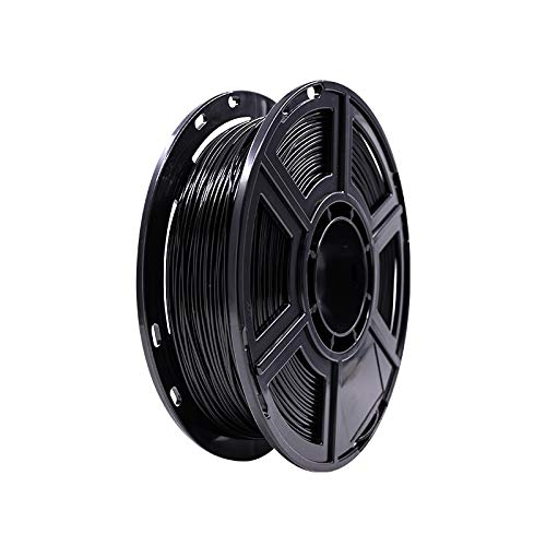 Flashforge PLA PETG 1.75mm 3D Printer Filaments PETG PLA (black, 0.5kg)