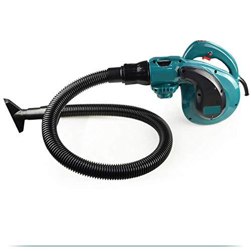 XIONGDA Soplador de Hojas eléctricas de Alta Potencia, soplador eléctrico de 1500W 2 en 1 y aspiradora, con Funciones de Ajuste de 6 Engranajes y 4 Accesorios, adecuados para Uso en Interiores