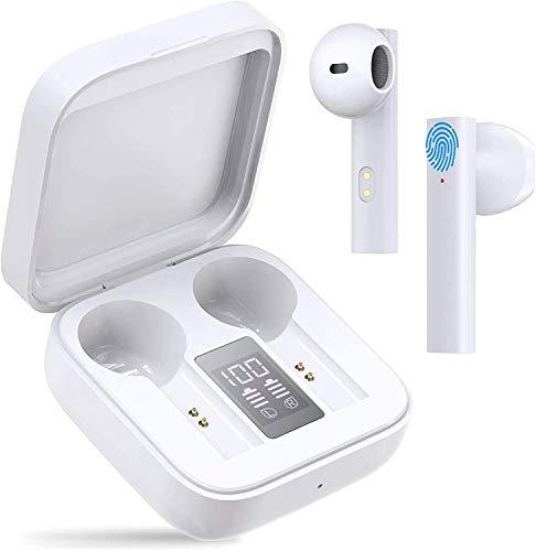 Bluetooth Kopfhörer, in Ear kopfhörer kabellos Hi-Fi Stereo Sound Touch Control Sport Ohrhörer, 20 Std.Spielzeit,für iPhone Samsung Huawei Android usw