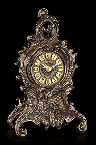 Barocke Tischuhr mit Farnen - Veronese