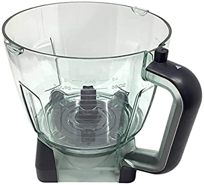 Ninja 64oz (8 Cup) Food Processor Bowl for BL770 BL770A BL770W BL771 BL771A BL771C BL772 BL772Q BL780 BL780CO Mega Kitchen System Blender
