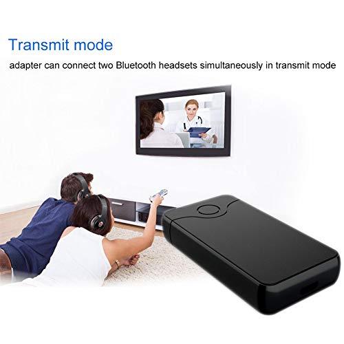 Yissma B18 2-in-1 Bluetooth audio-zender, ontvanger, audio-muziekadapter voor tv, auto, stereo-installatie