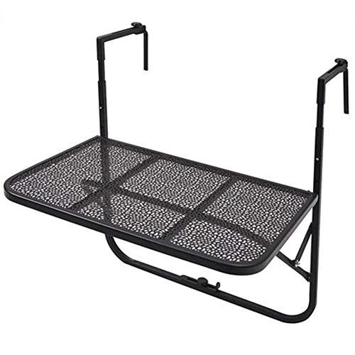 An Der Wand Befestigter Laptop-Standplatz-Schreibtisch-Faltbarer Balkon-Geländer-hängender Tabellen-im Freienkleine Tabellen-regensicherer Sonnenschutz, Moderner Lebender Kaffeetisch FENPING