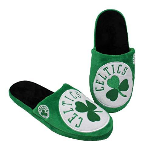 NBA Boston Celtic Men's Slip On Slippers Size XL 13-14