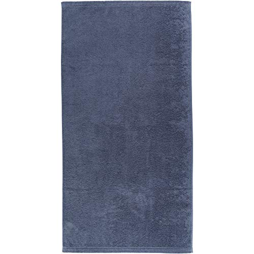 Cawö Home Handtücher Life Style Uni 7007 Nachtblau - 111 Duschtuch 70x140 cm