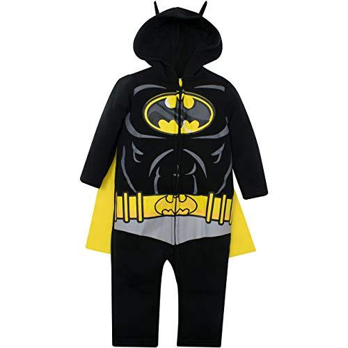Warner Bros. Justice League Batman Toddler Boys Costume Coverall Hood...