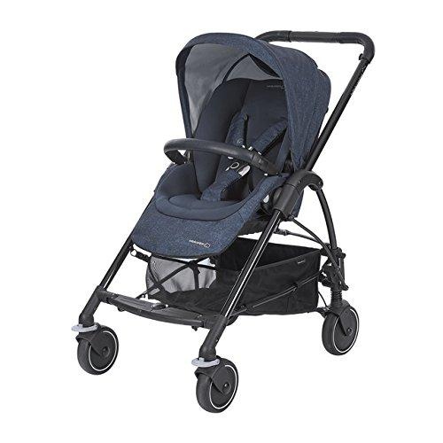 Bébé Confort Mya Passeggino Fronte/Retro Reversibile, Richiudibile Compatto, 4 Ruote, per Bambini...