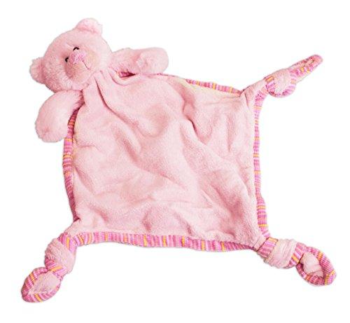 Russ Berrie My First Teddy Comforter Blankie, Pink