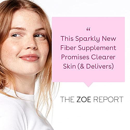 Love Wellness Sparkle Fiber - 30 Day Fiber Supplement - One per Day Fiber Capsule - Bloating Relief for Women - Psyllium Husk Powder Fiber & Digestive Enzymes - Safe & Effective Fiber Pills