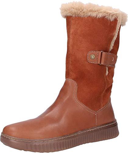 Geox Damen D DISCOMIX A Hohe Stiefel, Braun (Brown C0013), 40 EU