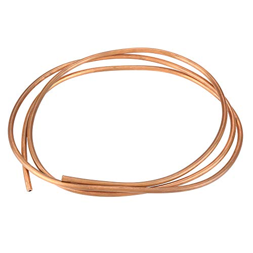 Tuyauterie de cuivre de 2m, diamètre interne 4mm d'ID de tuyau de tube d'enroulement de cuivre doux T2 1mm pour l'équipement électrique de réfrigération