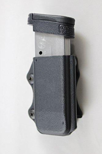 Multi Holsters Elite Single Magazine Holster Pouch (Compatible w/Glock 43X & 48, Black Calcutta)