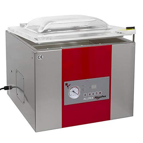 Vakuumiergerät KV 415-1 Schweißbalken - Vakuumpumpe: 20 m³/h - Vakuum: 99% - Kammerabmessung (BxLxH): 450 x 390 x 140 mm
