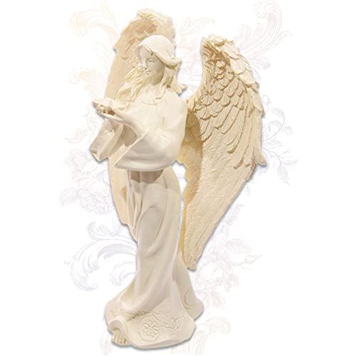 mtb more energy Angelo decorativo 'Hope' – Statuetta angelo custode Angel – altezza 17 cm – Decorazione credibile, speranza, amore