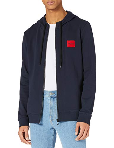 HUGO Herren Daple212 Pullover, Dark Blue405, XXL