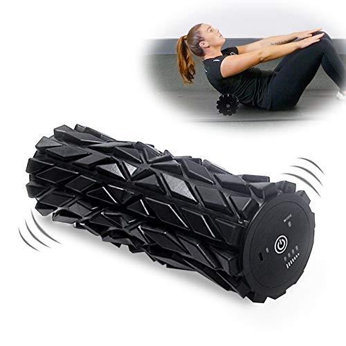 Wolady Elektrisch Schaumstoffrolle Massagerolle Fitness Foam Roller Elektrisch Faszienrolle Massagerolle für Faszientraining, Verspannungen und Yoga