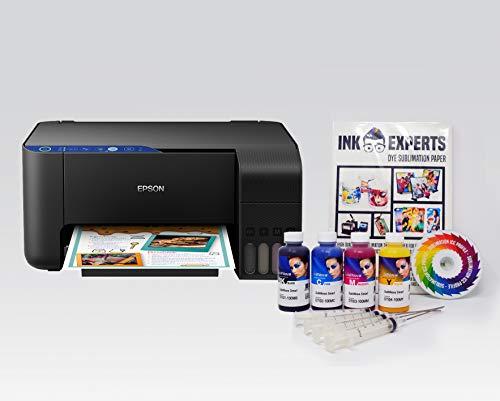 Dye Sublimation Printer Bundle - based on an Epson ET2714 inc. Inktec Sublinova Inks