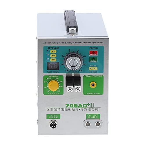 3.2kw soldador por puntos batería de litio inducción automática LED máquina de bolígrafo de soldadura equipo de soldadura por puntos(EU Plug 220V)