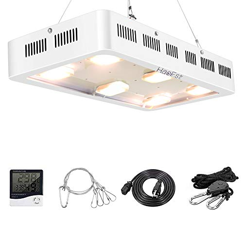 1800W LED Grow Light,X6 Sunshine Full Spectrum Grow Light for Greenhouse and Indoor Plant Flowering Growing(White)