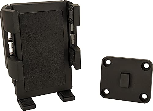 Panavise PortaGrip Phone Holder with AMPS Adapter Plate , Black