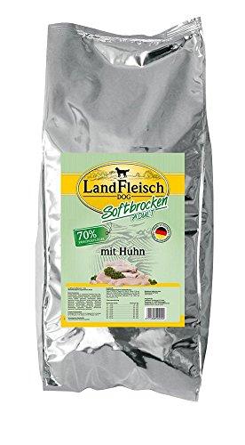 Landfleisch Dog Softbrocken mit Huhn, 1er Pack (1 x 15 kg)