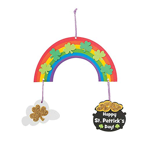 St Patrick's Day Mobile Craft Kit - 12 - Crafts for Kids and Fun Home Activities