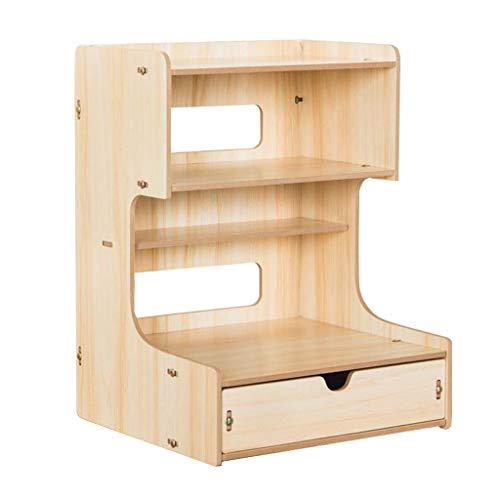 Aufbewahrungsbox Mit Schubladenregal (Color : Oak)