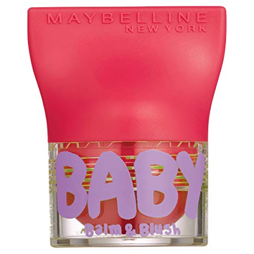 Maybelline New York Baby Lips Balm&Blush Balsamo Labbra e Blush, Juicy Rose 3, pack de 2 unidades