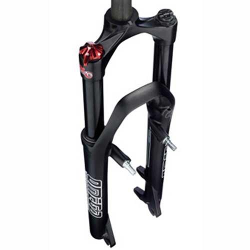 RST Federgabel Omega TNL, schwarz glänzend, Laufradgröße: 26''