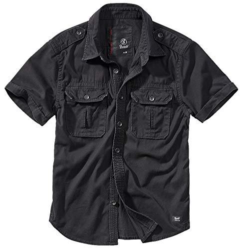 Brandit Vintage Shirt Longsleeve Camisa para Hombre