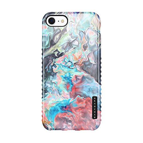 iPhone SE 2020 Case Watercolor, Akna GripTight Series High Impact Silicon
